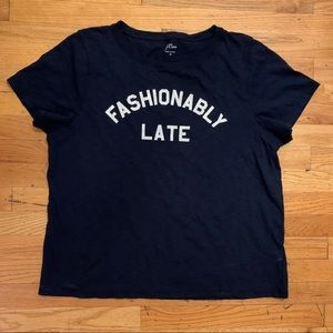 J crew t shirt